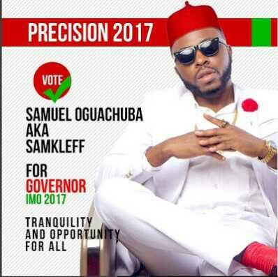 Samklef coming out for Imo state 2019 governorship (Photo)