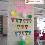 Celebration of Teddy Bear's Birthday Tea- party by Sr KG Section at Witty World Bangur Nagar (2018-2019)