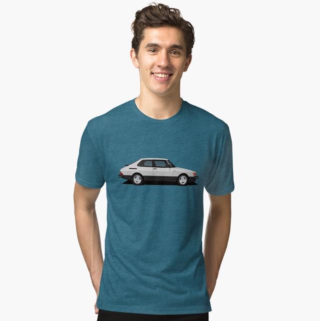 Saab 900 Turbo 16 Aero Mk1 T-shirt