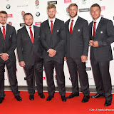 OIC - ENTSIMAGES.COM - Ben Morgan, Matt Mullan, George Kruis, David Atwood and Sam Burgess at the  Carry Them Home - rugby dinner (Suits provide by Eden Park) at the Grosvenor House London 5th August 2015 Photo Mobis Photos/OIC 0203 174 1069