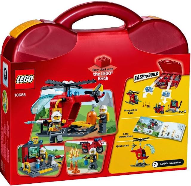 Lego Juniors 10685 Vali Cứu hỏa Fire Suitcase giúp bé nhà bạn trưởng thành cả về thể chất và trí thông minh