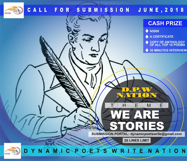 DYNAMIC POETS WRITE (DPW) CALLS FOR SUBMISSION