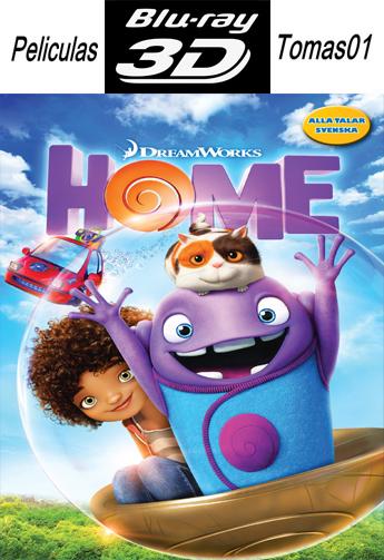 HOME: No Hay Lugar Como el Hogar (2015) (Full 3D Half-OU/BDRip 1080p 3D)