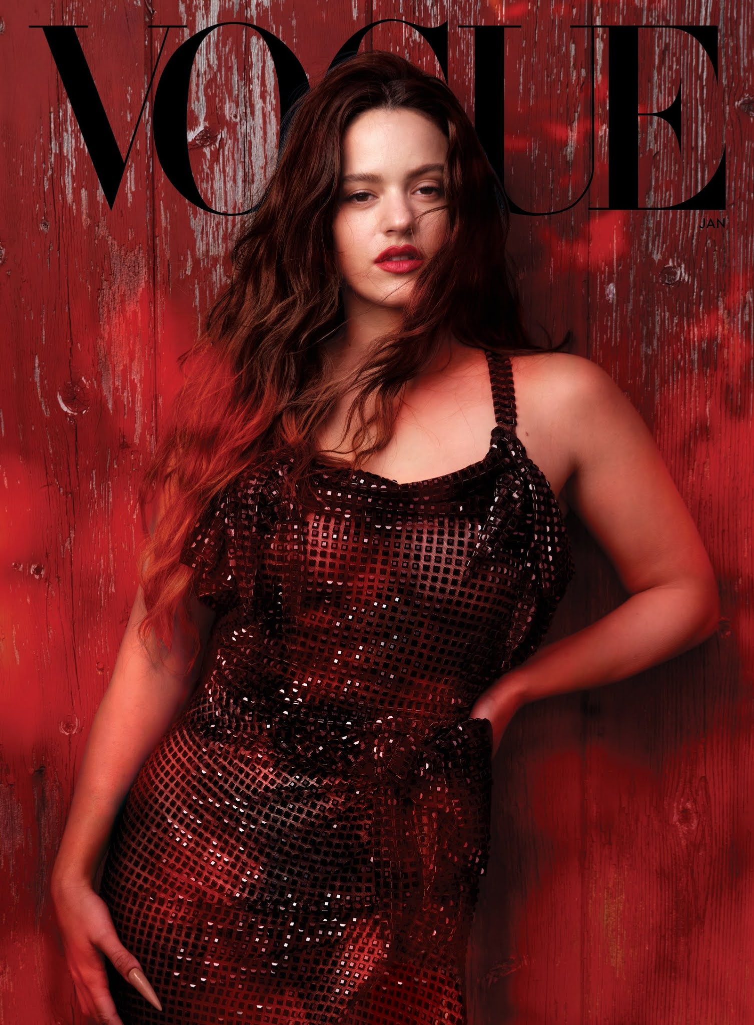 Rosalia is Vogue January 2021's fourth cover star