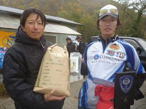 2位 松本和夫プロ 表彰1