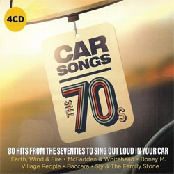 CD Car Songs The 70s [4CD Box Set] - Torrent