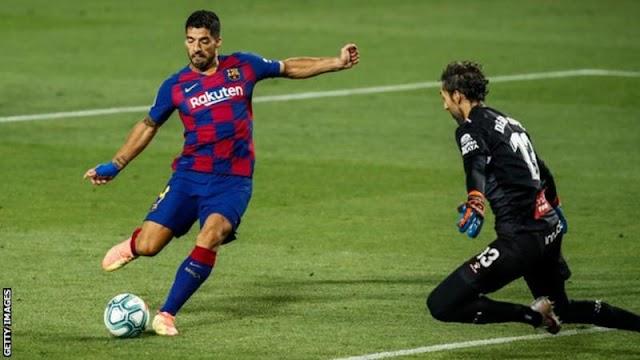 Goals: Barcelona 1 – 0 Espanyol (Watch Here)