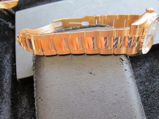 Bán đồng hồ rolex day date – Model 118235 – vàng hồng 18k – mặt số la mã – size 36mm