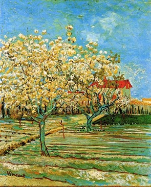 Van Gogh--Orchard In Blossom