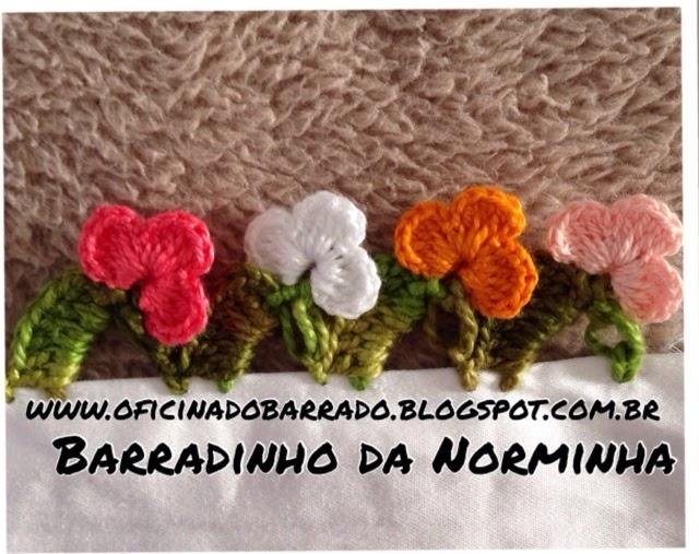 OFICINA DO BARRADO: Croche - Barradinho Gracioso