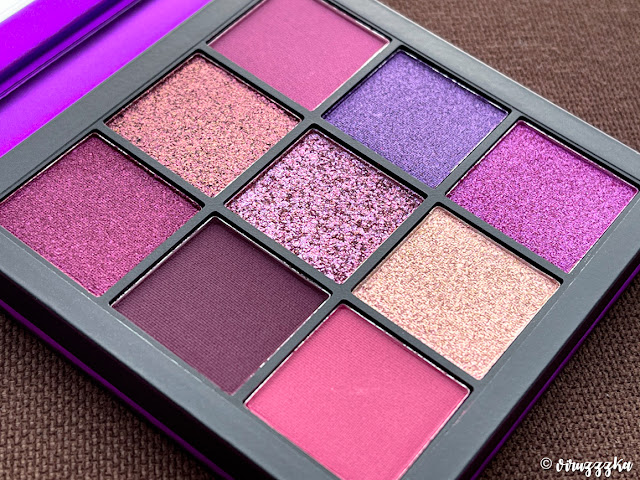 Huda Beauty Obsessions Eyeshadow Palette Amethyst Review