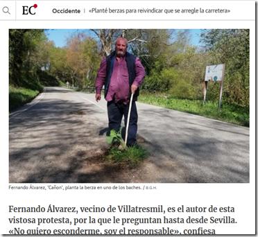 Screenshot-2018-5-7 «Planté berzas para reivindicar que se arregle la carretera»