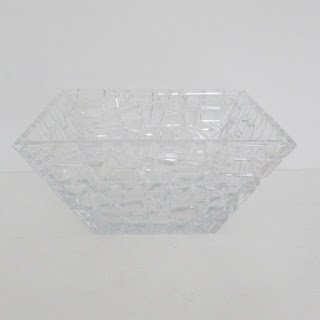 Tiffany & Co. Rockstud Crystal Bowl