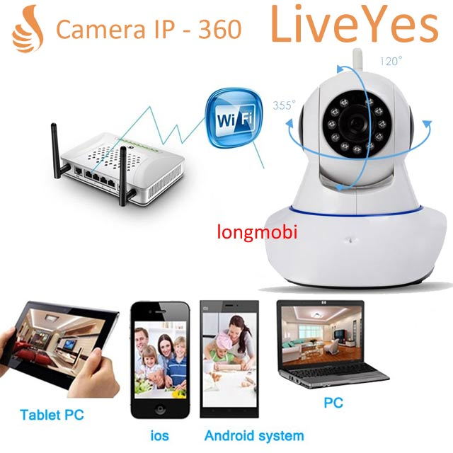 camera ip liveyes 720