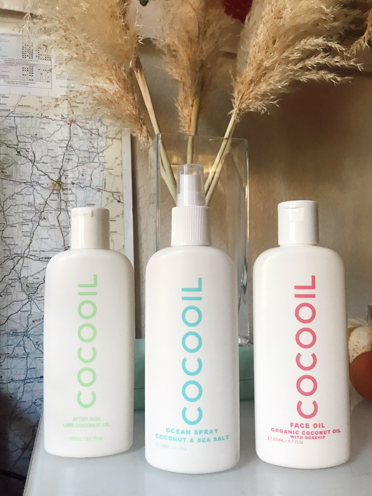After Sun oil with lime Small Business Shopping Gift Guide CocoOil