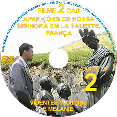 DVD LA SALETTE 2