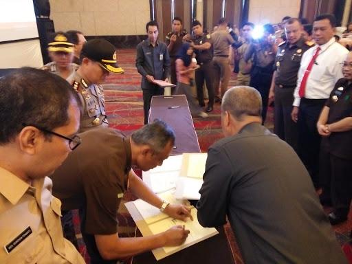 Bersihkan Perilaku Korupsi Para Pejabat, Dilaksanakan Kerjasama APIP dan APH