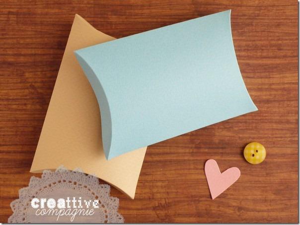 Scatoline portaconfetti e bomboniere fai da te per Battesimo Comunione Matrimonio