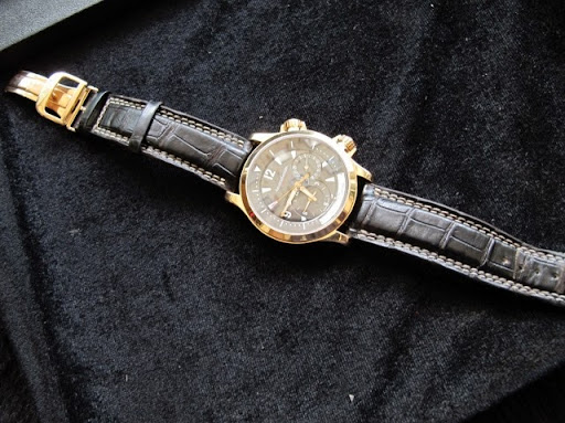 Bán đồng hồ Jaeger Lecoultre – Master control 1000 hours – Vàng hồng – dây da – size 41,5mm