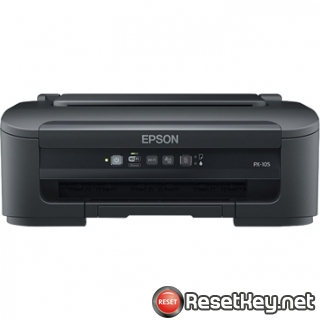 Reset Epson PX-105 printer Waste Ink Pads Counter