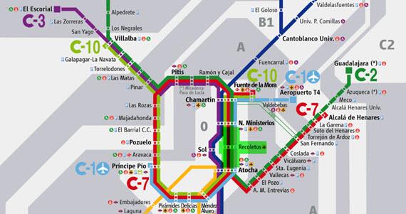 Cambios en Cercanías por cierre del túnel Recoletos, del 30 de julio al 5 de septiembre