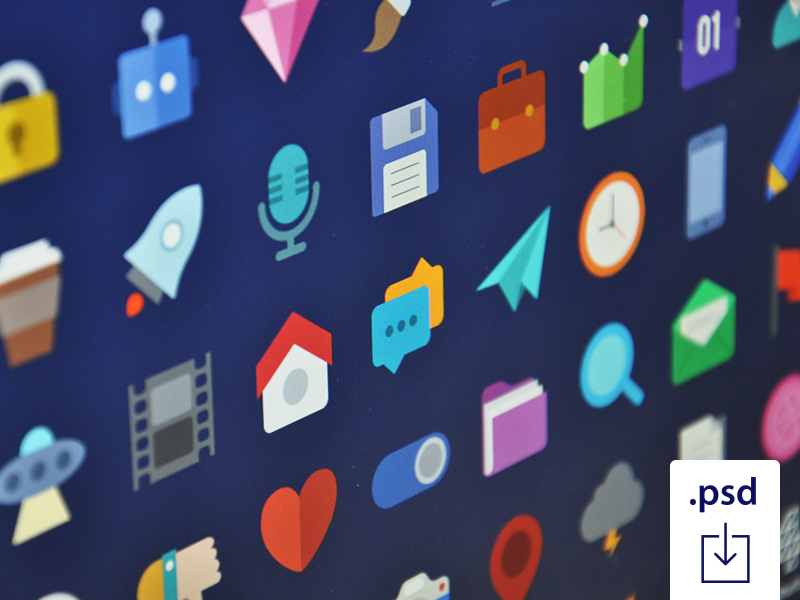 Free Flat Icons Colorfull