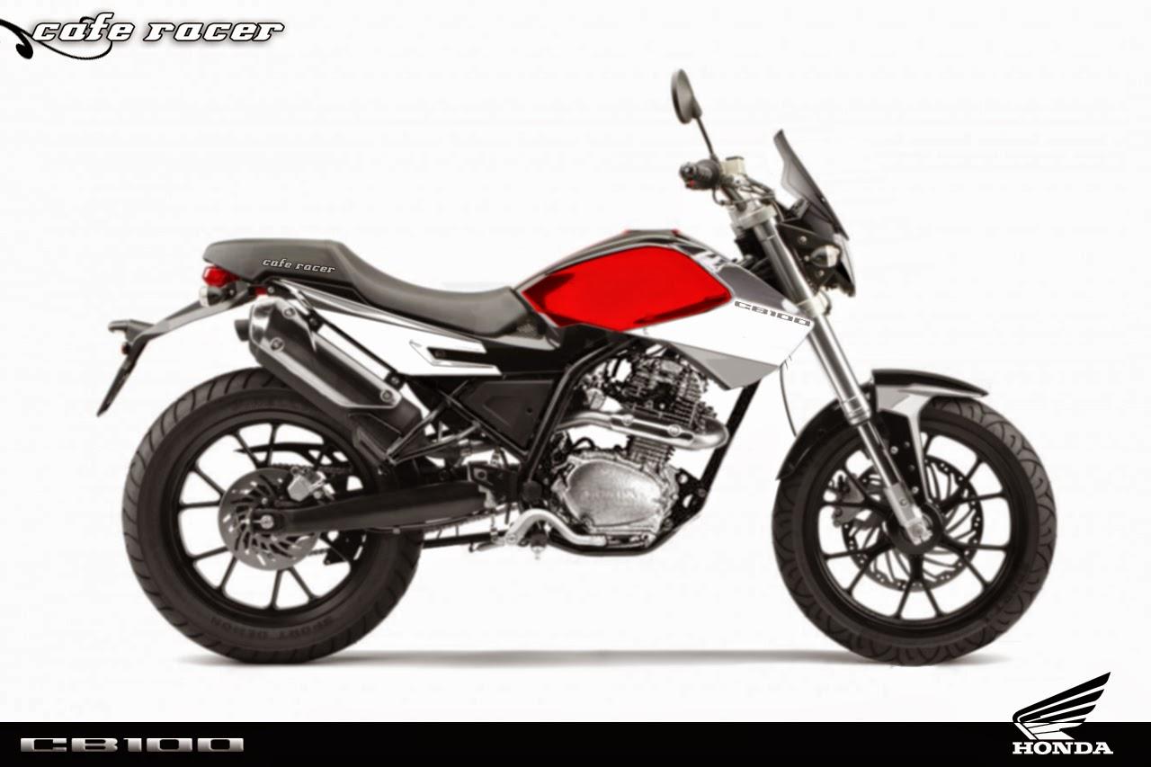 Motor Thunder Modifikasi Cb  Thecitycyclist