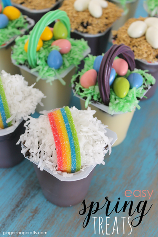 Easy Spring Treats at GingerSnapCrafts.com #spring #treats_thumb