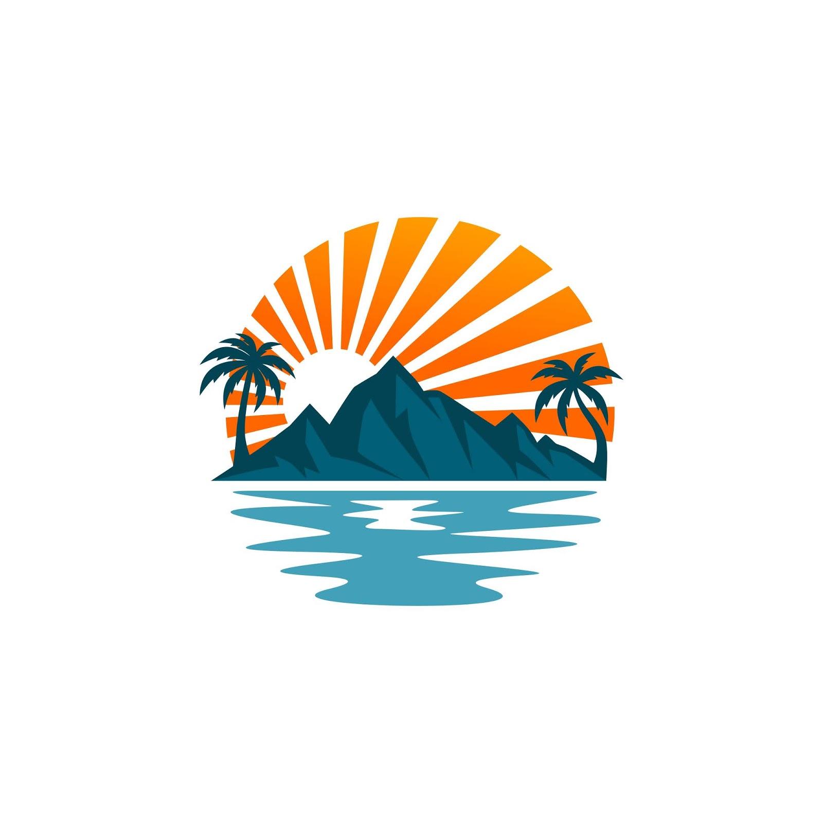 Beach Logo Vectors.jpg Free Download Vector CDR, AI, EPS and PNG Formats