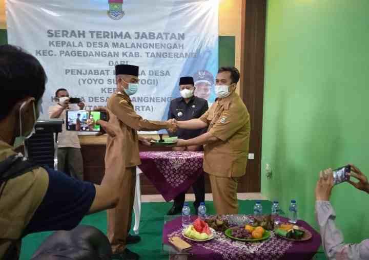 Pemdes Malangnengah Gelar Sertijab Kepala Desa Priode 2021-2027