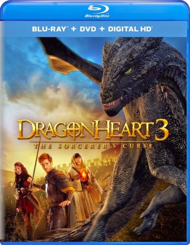 Baixar Cover Dragonheart 3 The Sorcerers Curse Blu ray 388x500 Coração de Dragão 3: A Maldição do Feiticeiro   Dublado e Dual Audio Download