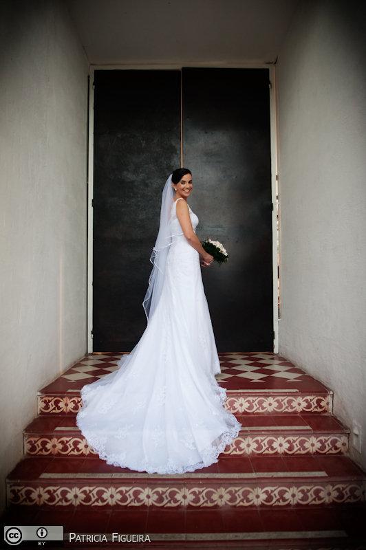 Foto de casamento 0181 de Lana e Erico. Marcações: 20/11/2010, Casamento Lana e Erico, Fotos de Vestido, La Novia, Rio de Janeiro, Vestido, Vestido de Noiva.