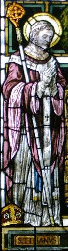 San Tiziano, vetrata del Duomo