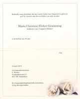 Slieker-Groeneweg, Maria Christina Overlijdenskaart 14-04-2010.jpg
