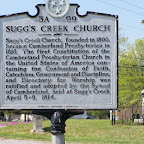 Sugg's Creek Church and Cemetery Wilson County, Tennessee