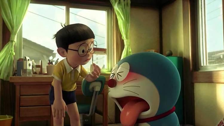 Nobita y Doraemon, amigos inseparables