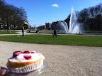 cake and Parc du Cinquantenaire