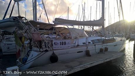 Y2K ormeggiata al Marina di Rodney Bay - Santa Lucia