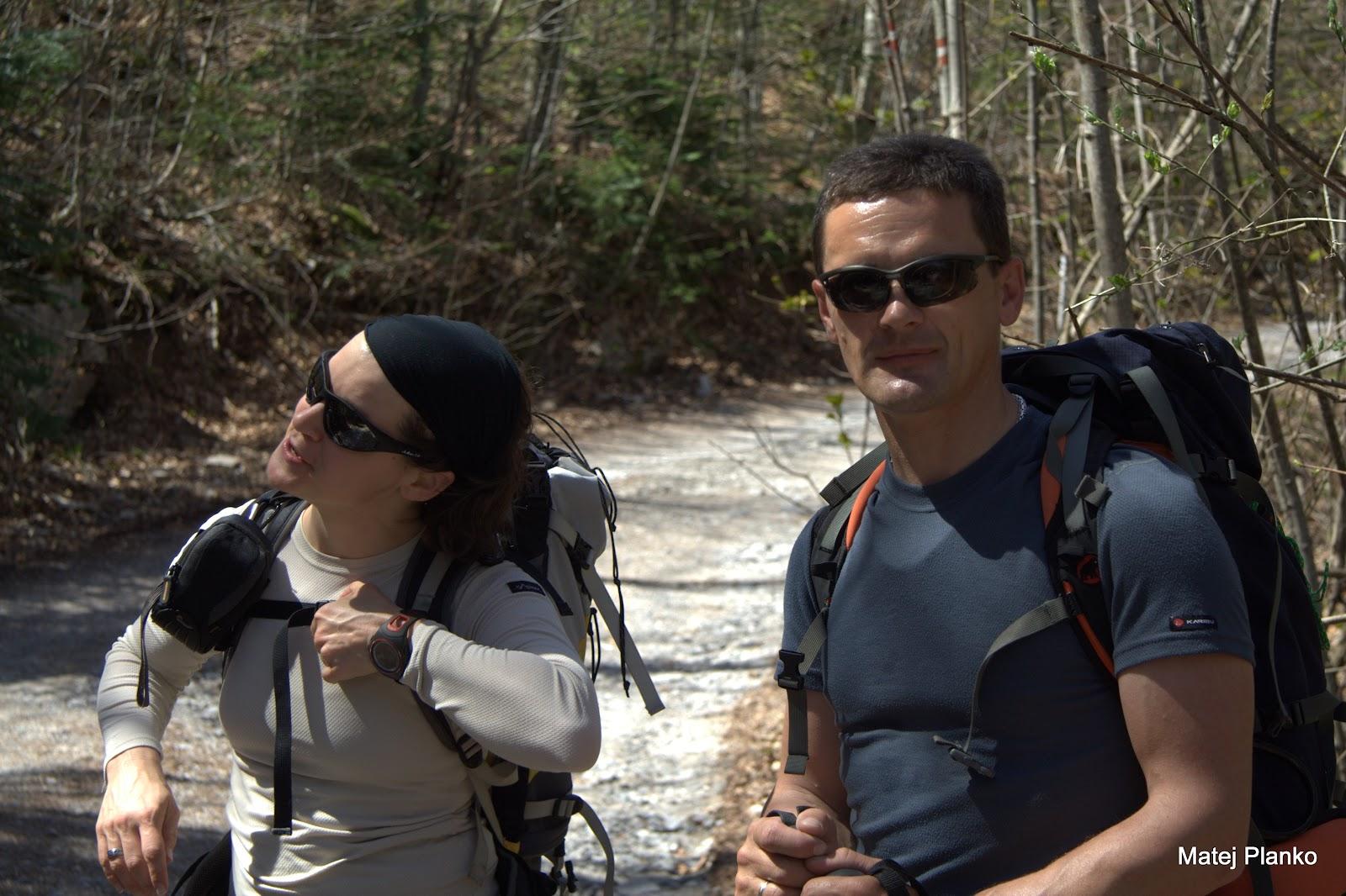 Slovenska vodnica Nina in bosanski vodič Lipa
