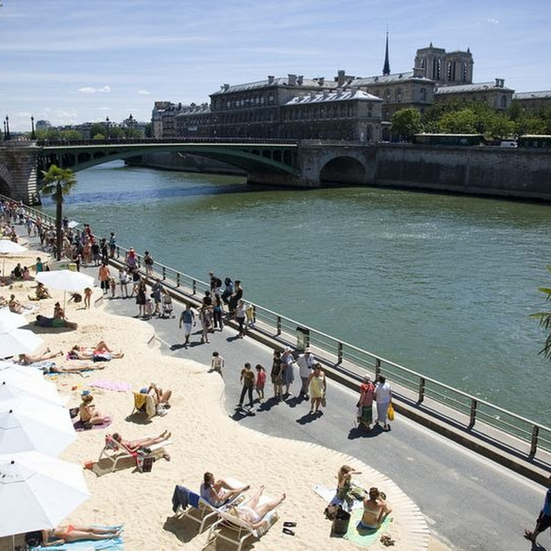 Paris Plages: The Artificial Beaches of Paris