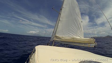 Navigazione verso St. Kitts