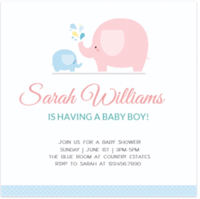 Musings Of An Average Mom Baby Shower Cards