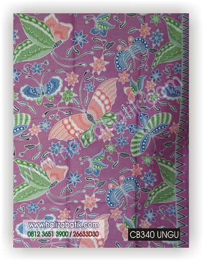 Busana Batik Modern, Baju Batik Murah, Toko Baju Batik Online, CB340 UNGU