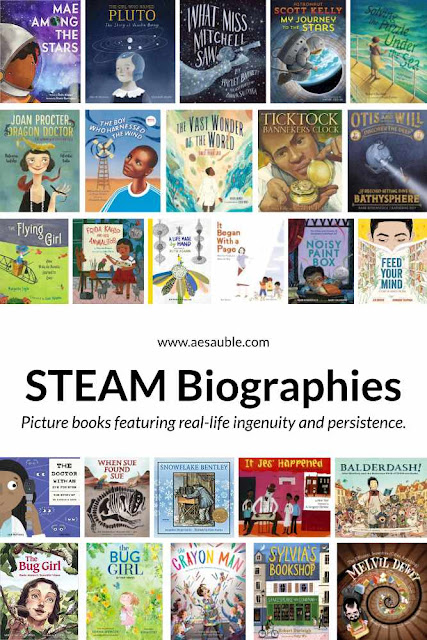 A large collection of picture book biographies.