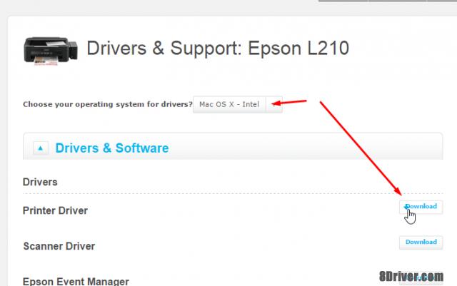 Download Epson L210 printer driver for mac