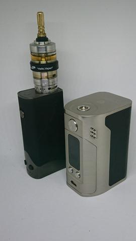 DSC 1411 thumb%25255B4%25255D - 【MOD】男のロマン「Wismec Reuleaux RX300」4本バッテリーMODのレビュー。でかくておもくてそれは鉄塊だった【ドラゴンころし】