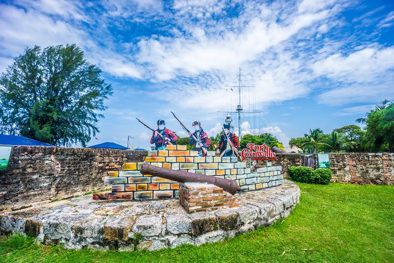 ペナン島 ジョージタウン コーンウォリス砦7