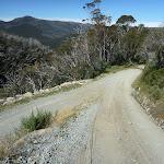 Walking down hill along Merritts Traverse (272390)
