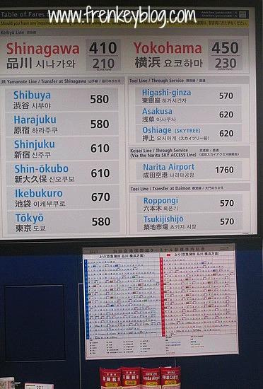Harga Tiket Keikyu Line di Bandara Haneda