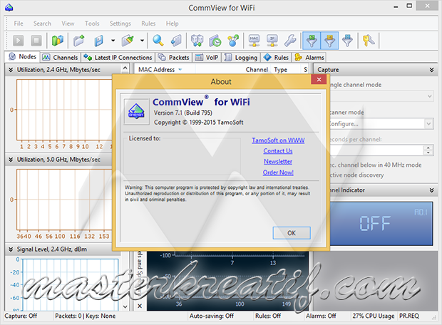 CommView for WiFi 7.1